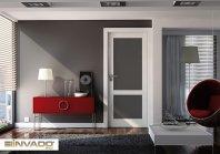 Salon, drzwi wewnętrzne BIANCO