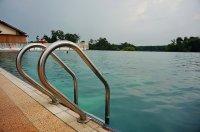drabinka basenowa