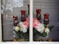 dekoracje na okno