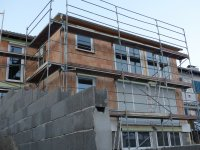 budowa domu i folie pe