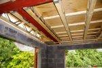 Przykładowa konstrukcja stropu drewnianego